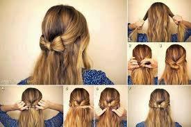 astuce pour une coiffure voilà les etapes♥