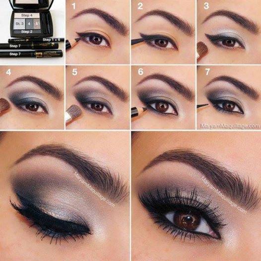 Tutos maquillages pour les yeux marrons