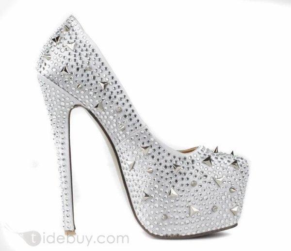 tidebuy reviews fashion silver leather stiletto