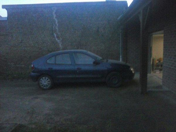 Ma nouvelle voiture apres reparation