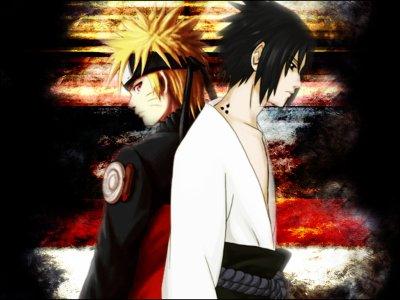 Naruto Uzumaki Vs. Sasuke Uchiwa