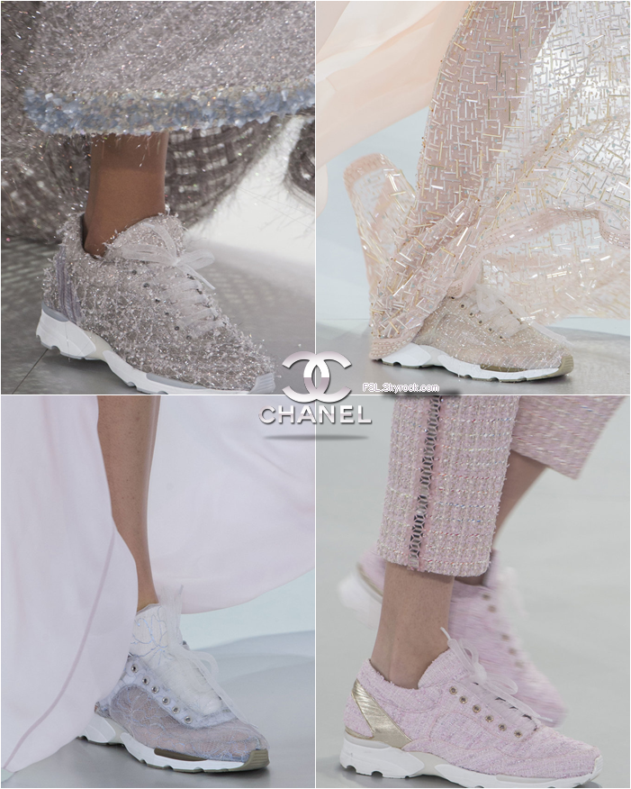 chanel couture running