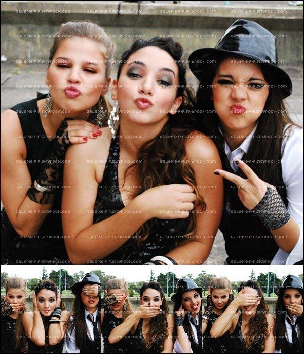 . __ Photoshoot de Thelma + Thelma , Vanesa & Sol tournant un Clip Inconnue  .