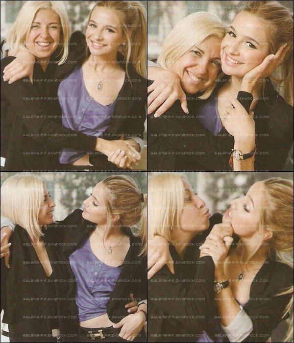 . __ Suite du Photoshoot de Brenda pour le Magazine de PF' lors de son passage en Italie avec sa Mère  .