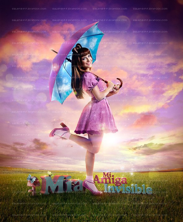 . __ Nouvelle Affiche de Mia , Mi Amiga Invisble .