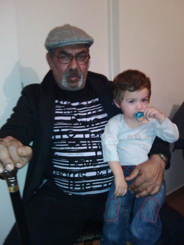mon père avec mon fils