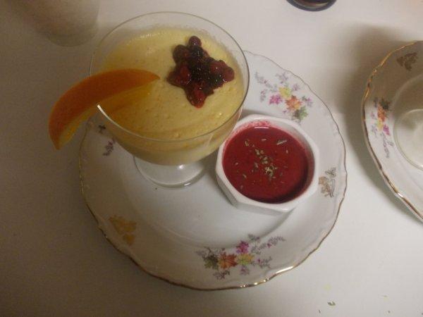 mon premier dessert de noel :)