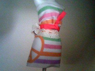 Exemple de tenue sur manequin plastique