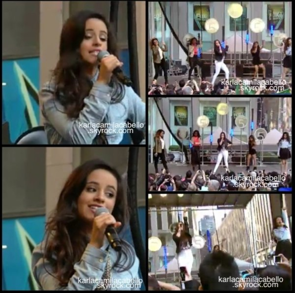 5/08/13 : les filles ont chantés, Miss Movin On à Fox & Friends