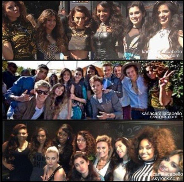 11/08/13 : Fifth Harmony a assisté au Red Capet et à la cérémonie des Teen Choice Awards 2013