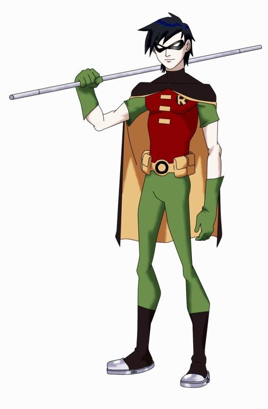 Troisième perso: Robin/Dick Grayson