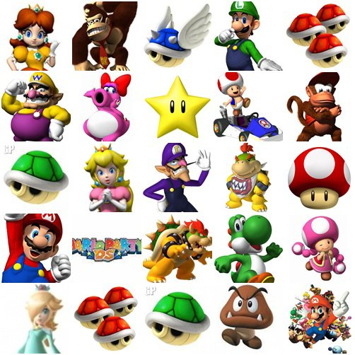 les personnages mario luigi compagnie pix mario luigi. Black Bedroom Furniture Sets. Home Design Ideas