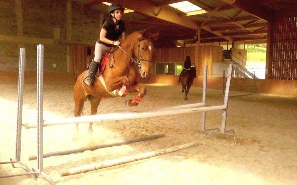 Le cheval c'est comme le red bull, ça donne des ailes <3
