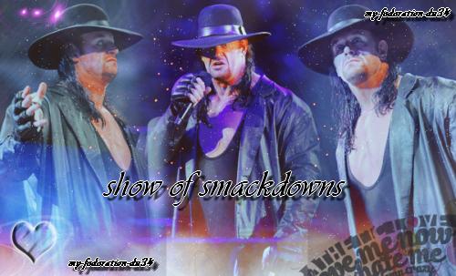 [ 7 ] show of smackdowns ● sky-echange