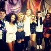 Les filles hier avec Cher Llyod et Rixton