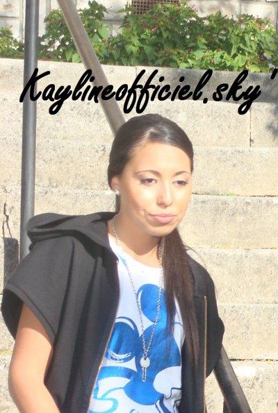 Kayline : En pleine préparation de son 1ère album solo.