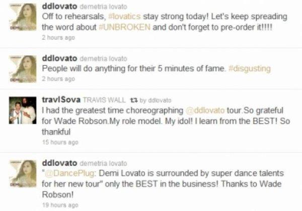 Demi Lovato : En colère sur Twitter !