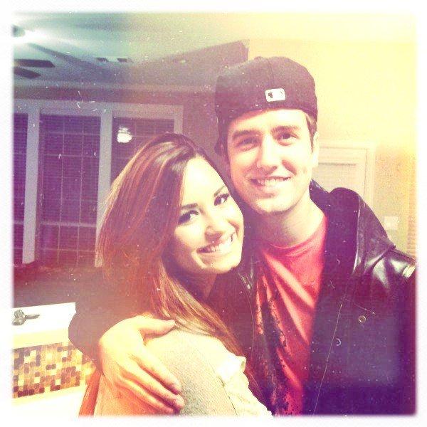 Demi Lovato et Logan Henderson