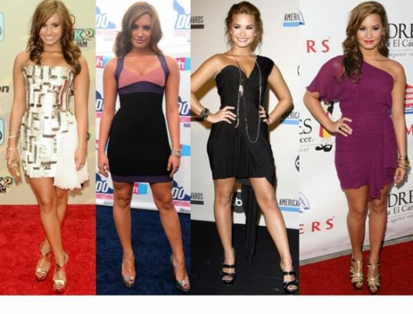 LOOK DE DEMI LOVATO : SON ÉVOLUTION FASHION (PHOTOS)