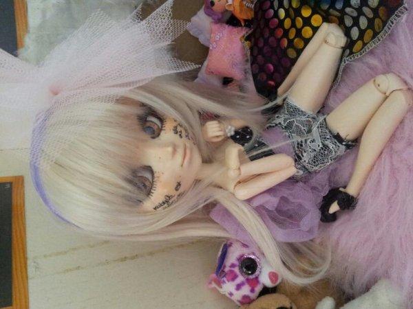 Lehna *-* tenu fait main par moi :) + VEND wig blonde ^^