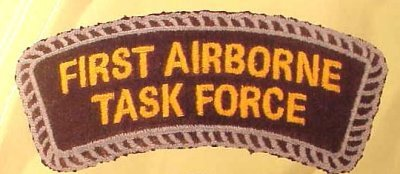 Carnet de guerre: The 1st Airborne Task Force (en cours de mise à jour)