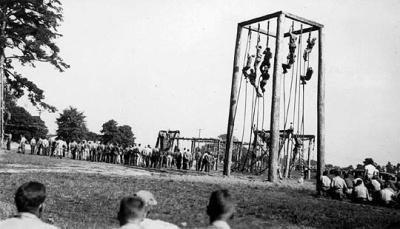 L'entraînement des parachutistes
