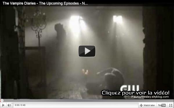 .  Deux stills des épisodes de Vampire Diaries à venir sont désormais disponibles ainsi qu'une nouvelle vidéo promo de l'épisode qui sortira jeudi prochain et le synopsis de l'épisode 19. .