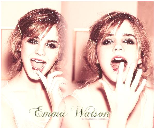 . Bienvenue sur EmmaSources ,ta source sur la talentueuse Emma Watson.