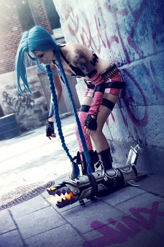 Mon cosplay de Jinx