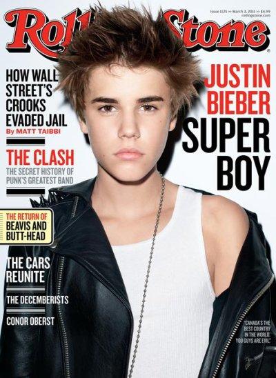 Justin en magazine de rolling stone!!!=)