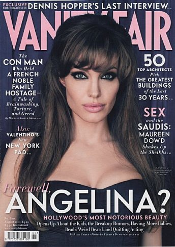 Vanity fair: Angelina ou Lady Gaga????=)