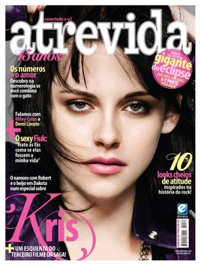 Kriten en couverture de Flaunt et  Atrevida!!!=)