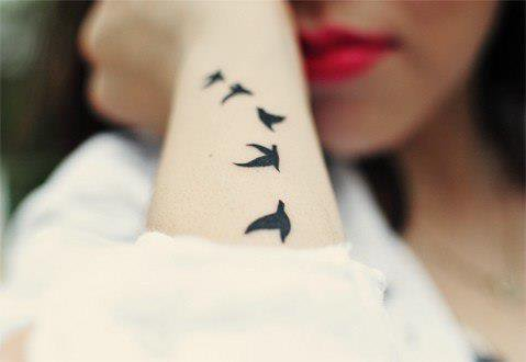 Tatouages ( colombes ) !