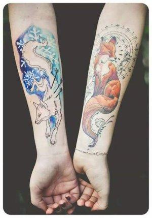 Tatouages que je troue magnifique