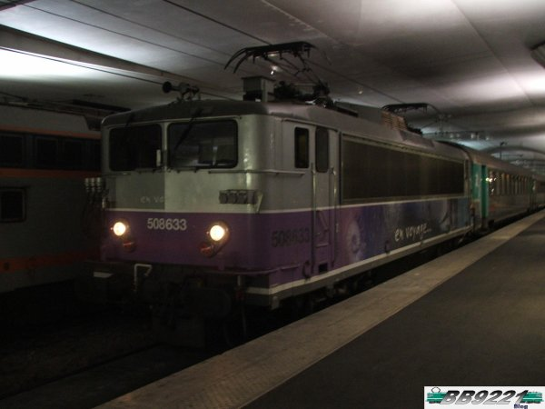 BB 8633 à Paris Austerlitz