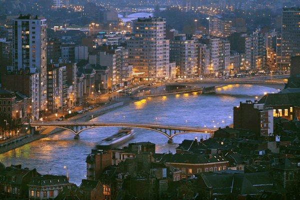 Ma ville actuelle...Liège...