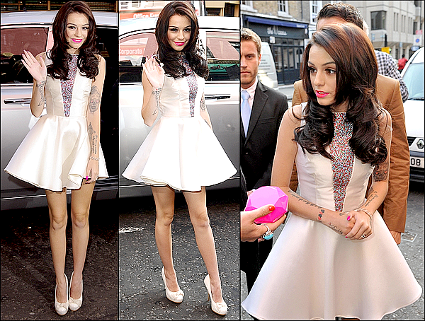 Lancement de Pink Diamond, le premier parfum de Cher Lloyd !