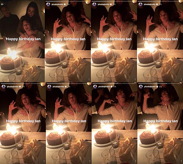 .  08.12.2016 |  Nikki et l'ensemble du casting de TVD fêtaient l'anniversaire de son mari Ian ! Nous avons très peu de photos du couple lors de cette soirée, mais nous avons quand même eu l'occasion de voir une vidéo via la Story Instagram de Phoebe Tonkin (petite-amie de Paul Wesley et actrice de The Originals). Sur cette fameuse vidéo, Nikki est derrière Ian et l'embrasse sur la tête. Nos amoureux sont vraiment trop choux ♥ .