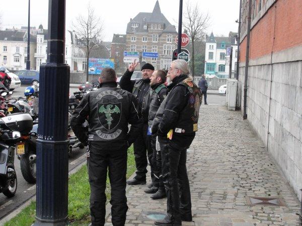 Manif à Bruxelles des MOTARDS EN COLERE