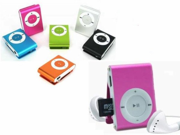 MP3 style Shuffle (inseré directement votre carte mémoire)