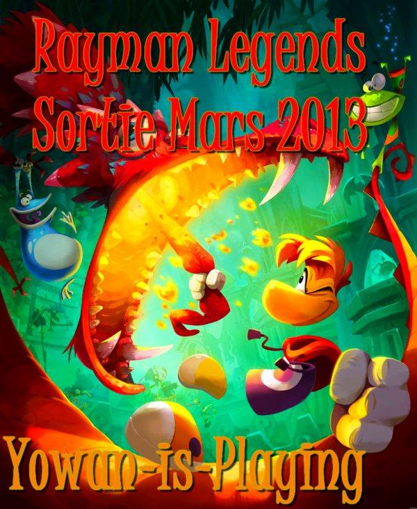 2 Sorties : Rayman Legends & Tomb Raider
