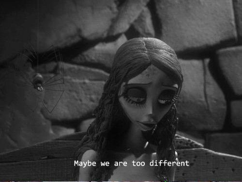 I'm different from you