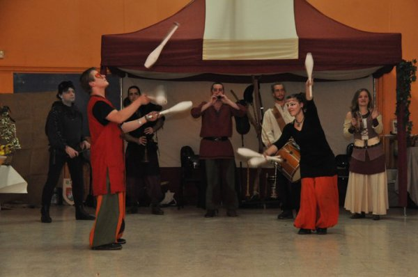 Banquet médiévale le 12 février 2011