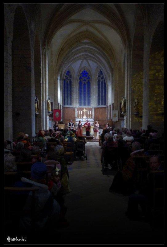 Concert Al-Andaluz - Faverney (Haute-Saône) 17 seprembre 2011