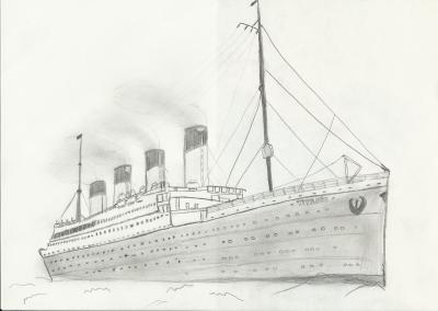 Dessin Du Titanic Soffco