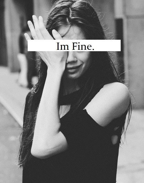 Pleurer n'est pas une honte, cela prouve juste que l'on a peur de perdre quelque chose.