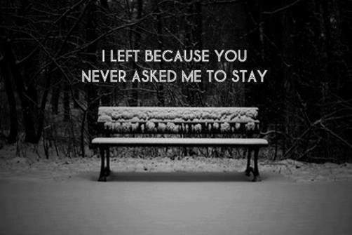 Je me suis dit que si je pouvais, je m'arracherais le c½ur, je le briserais en mille morceaux, je le piétinerais, je le brûlerais pour qu'il n'en reste plus rien, juste pour toi, parce que je t'aime. Et puis je me suis rendu compte que finalement c'est ce que tu avais fait.