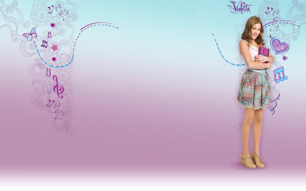 Fond d'écran Violetta...♥
