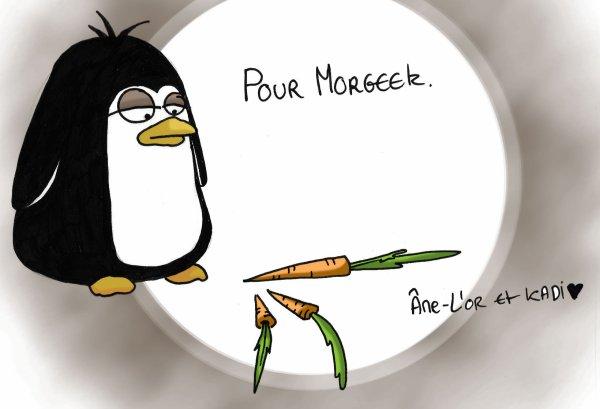 Moi, j'aimais bien mon concepts des pingouins et des carottes.