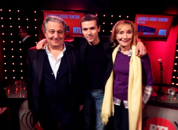 CHRISTIAN CLAVIER, MARIE-ANNE CHAZEL & AYRTON PARIS